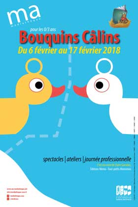 Literary Festival for babies Bouquins Calins Antibes