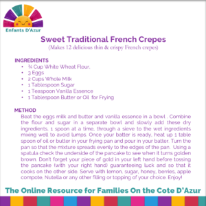 French Crepe Recipe by Holly @Enfants D'Azur