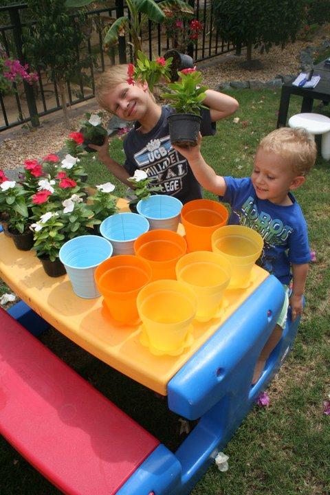 Little Gardeners Activity @enfantsdazur