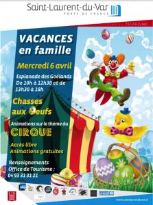 Easter Egg hunt - St Laurent Du Var April 2020