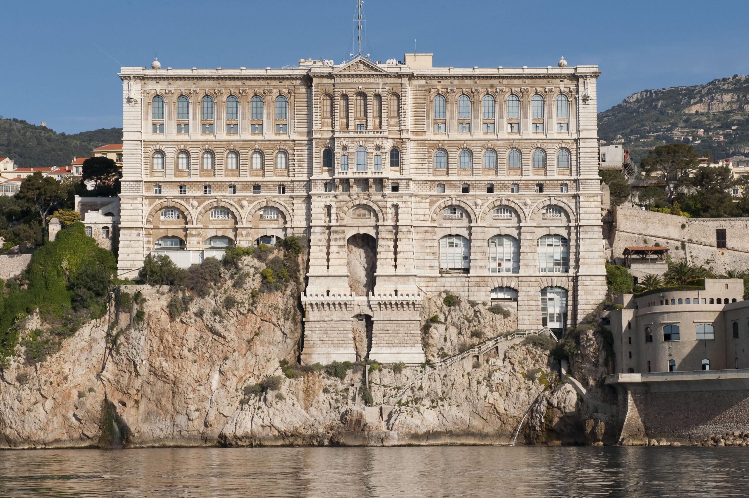 Facade du MusŽe ocŽanographique de Monaco