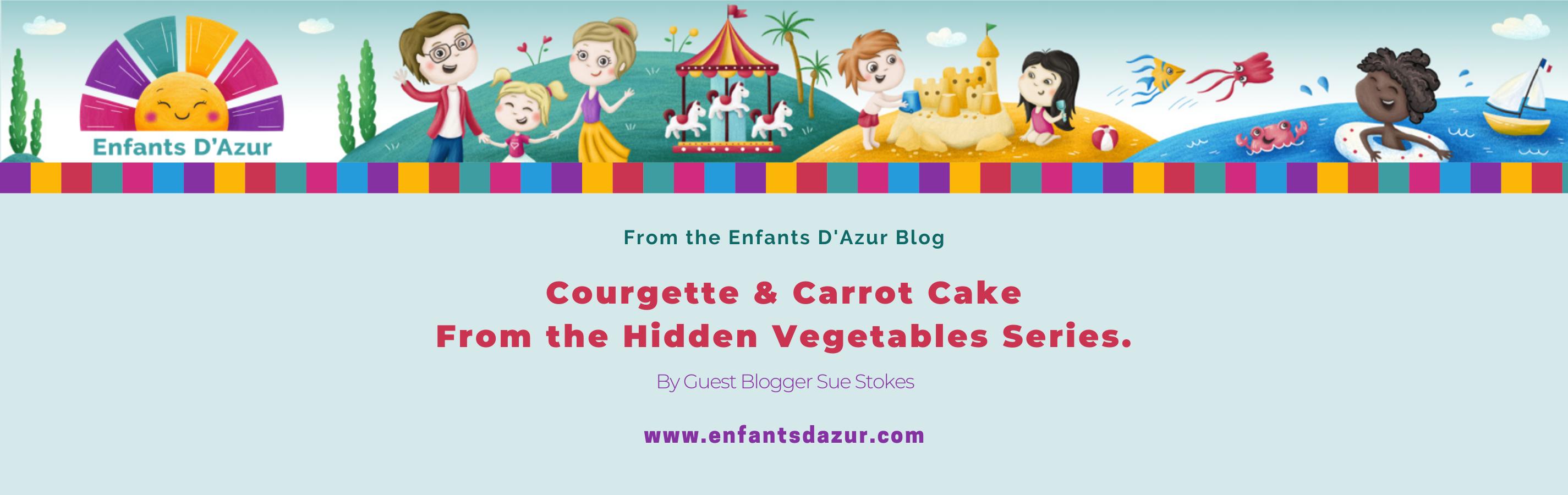 Blog Title Enfants Carrot cake