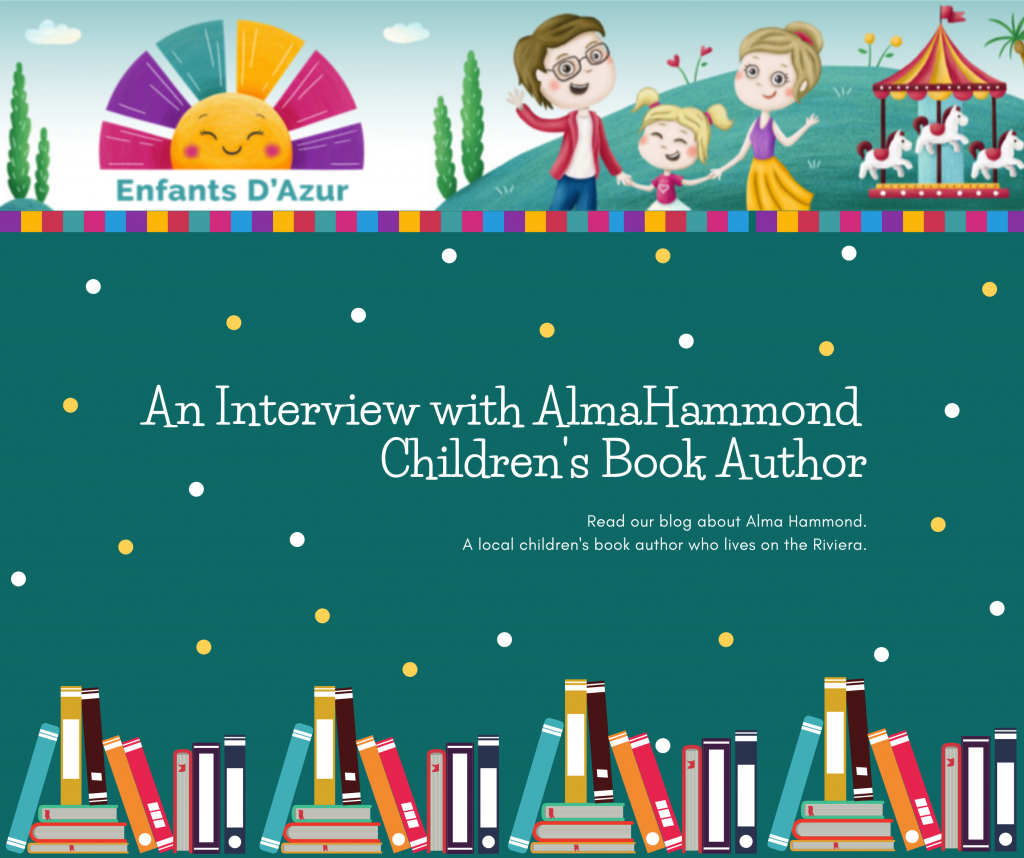 A Interview With Alma Hammond, Children's Book Author Facebook Post