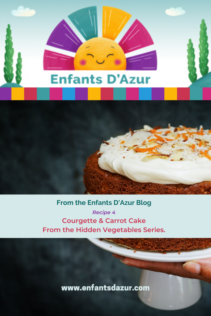 Courgette & Carrot Cake From the Hidden Vegetable Series By Guest Blogger Sue Stokes