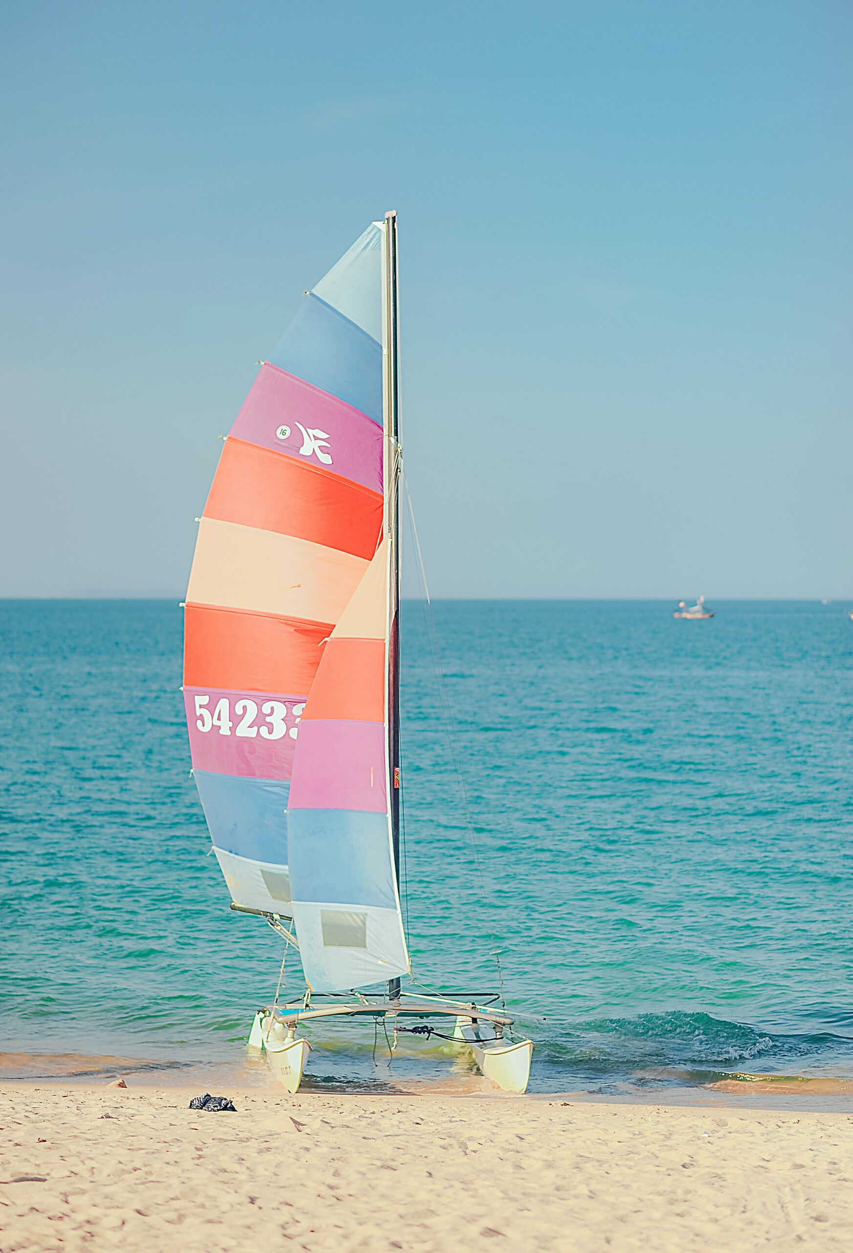picture of a colourful catermarin