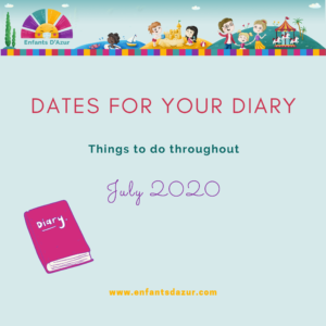 Things to Do July 2020