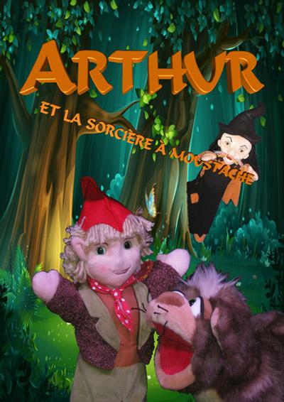Arthur et la sorcière à moustache theatre production