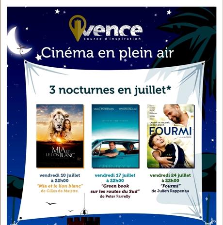 Vence Cinema en Plein Air