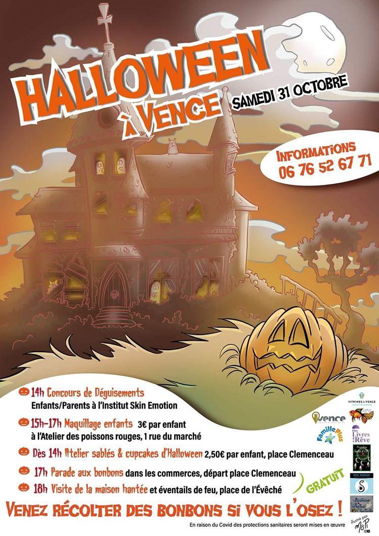 Vence Halloween event