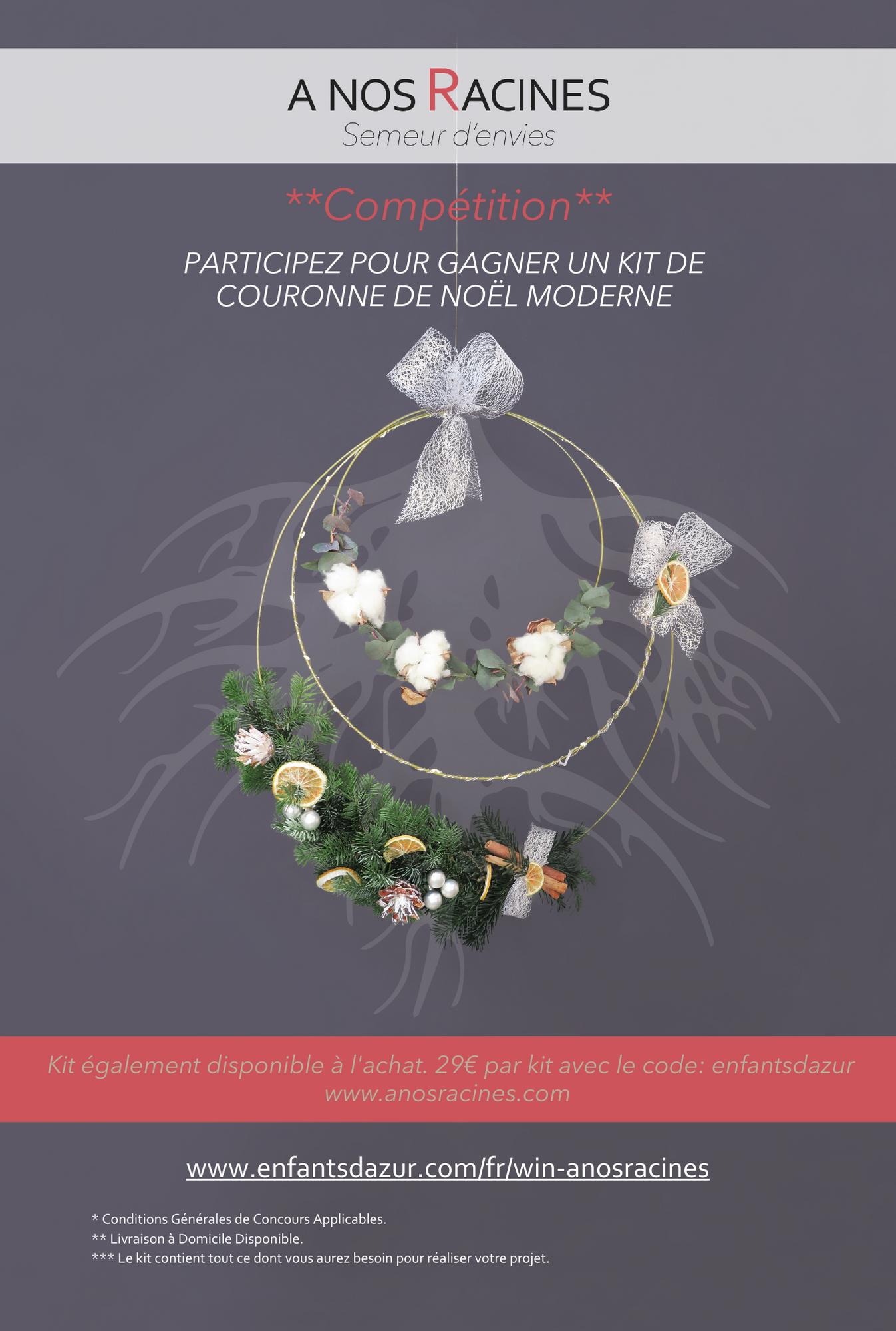 A nos racines Wreath Competition Nov Dec