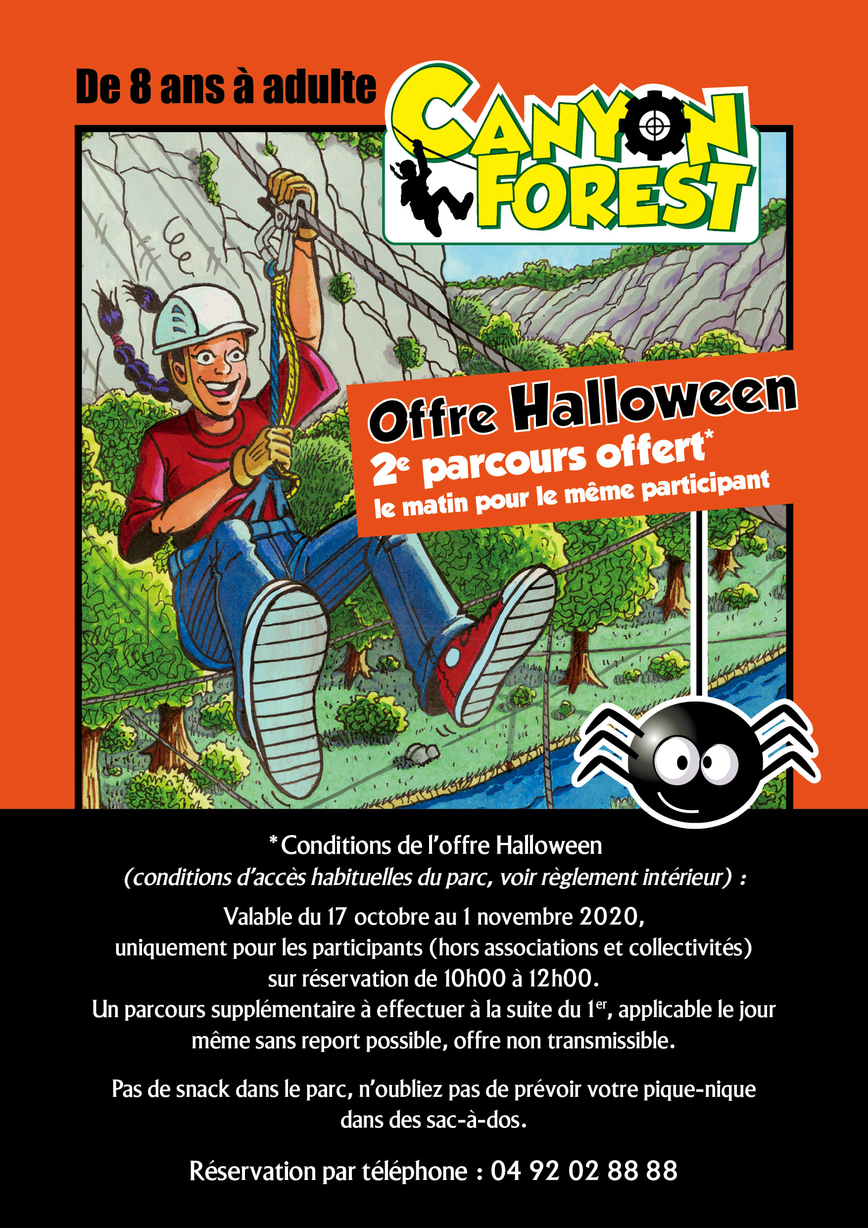 Canyon Forest Halloween event 2020