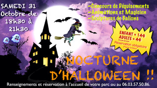 halloween party Fun City Cannes