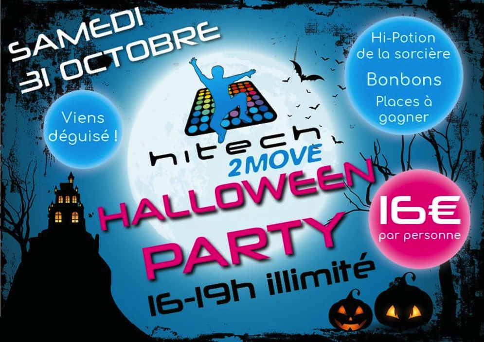 Halloween party at Hitech 2 move