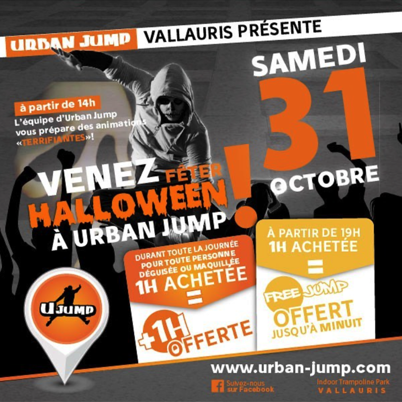 Urban Jump halloween Party