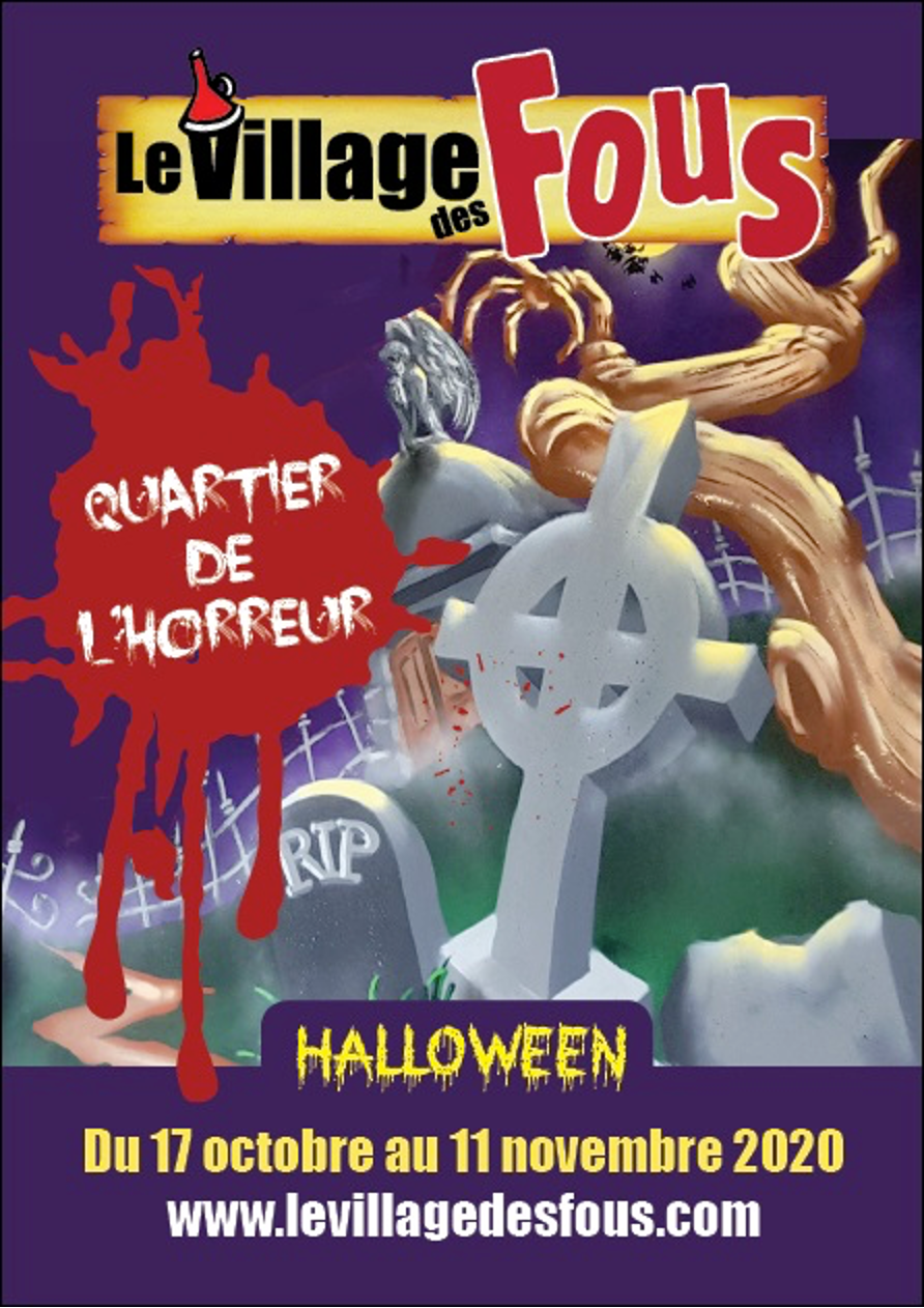 Village Des Fous Halloween Event