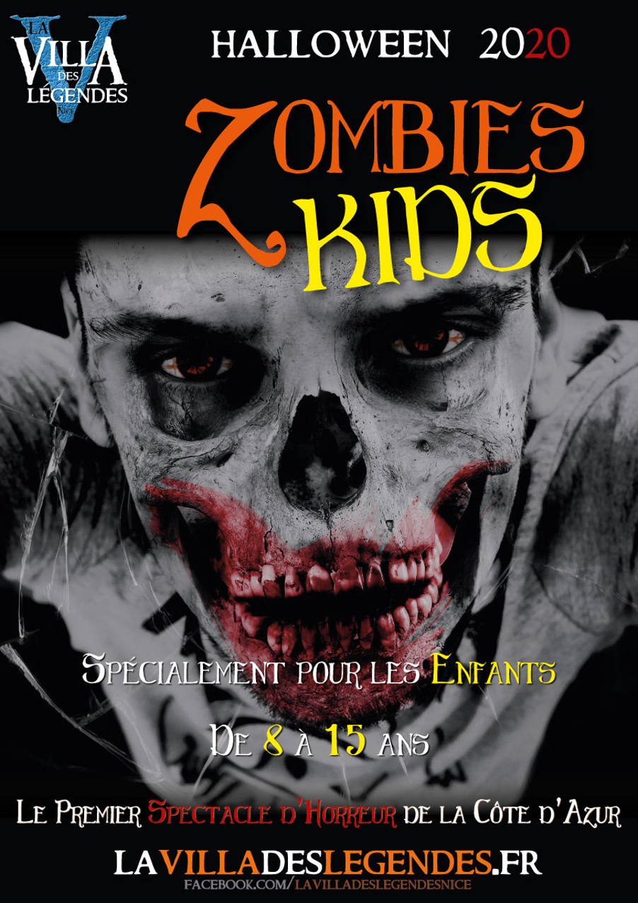 La Villa Des Legends Zombies Kids