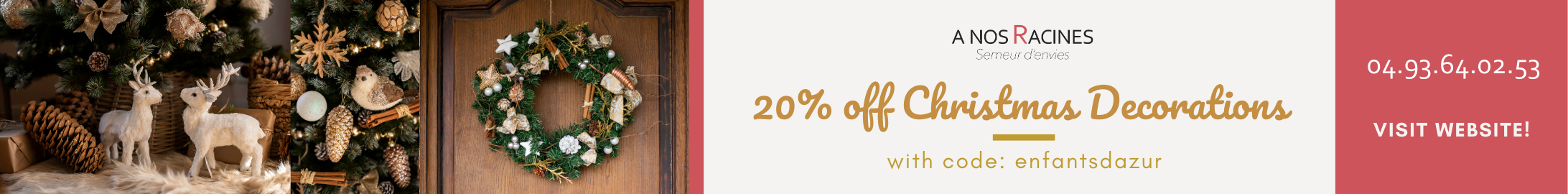 20% off Christmas Decorations