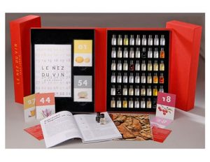 coffret of wine
