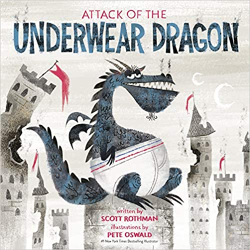 dragon in underwear