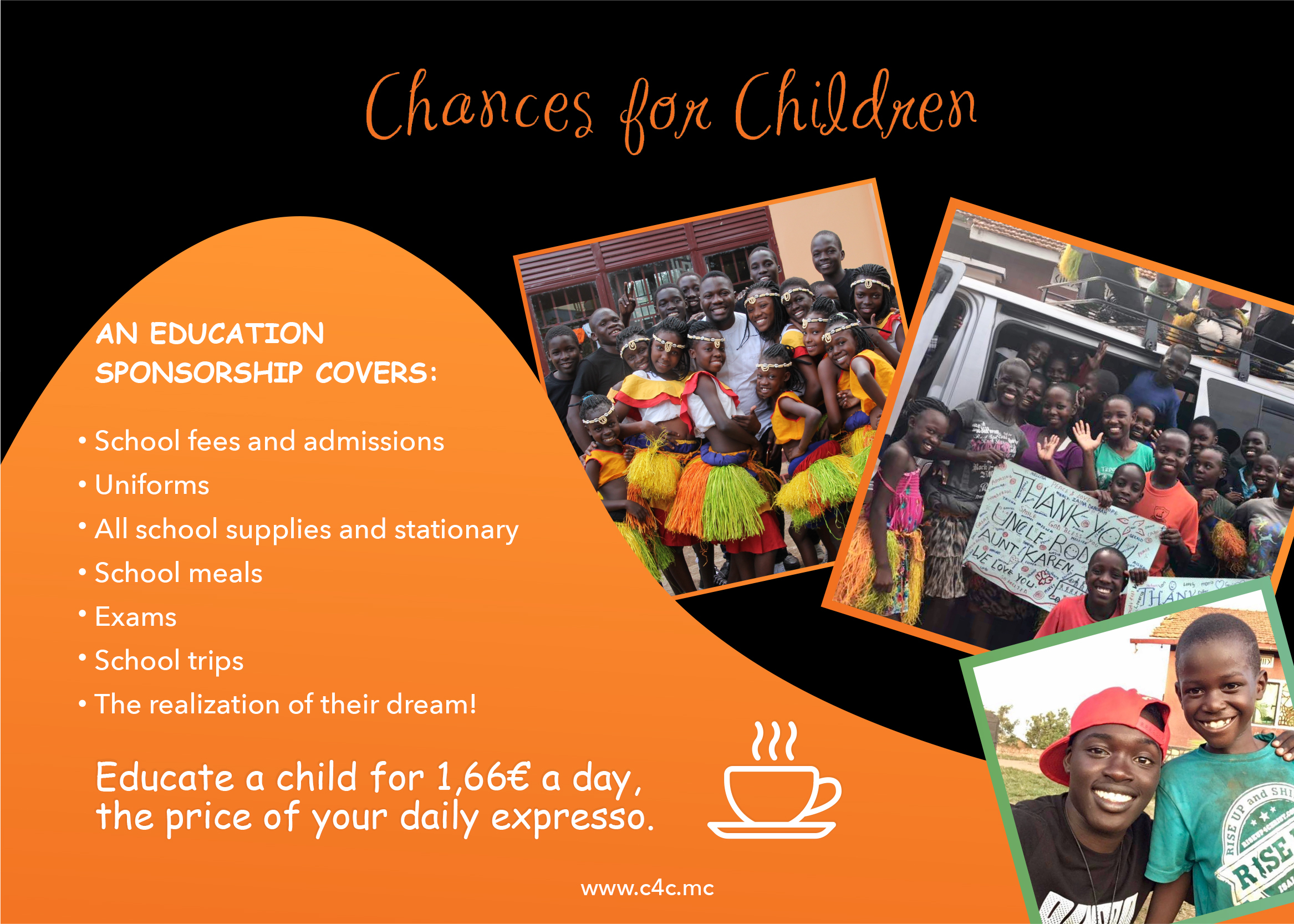 sponsor a child's education C4C