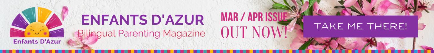 Copy of Bilingual parenting magazine for the Cote d'Azur