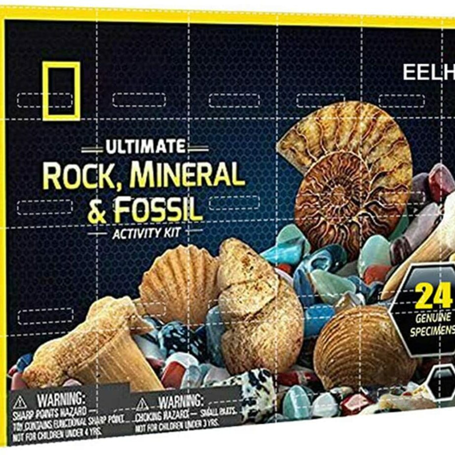 rock mineral & fossil advent calendar