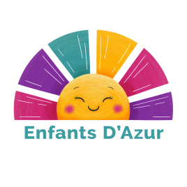 Enfants D'Azur Logo Kids Activities on the Cote D'Azur French Riviera