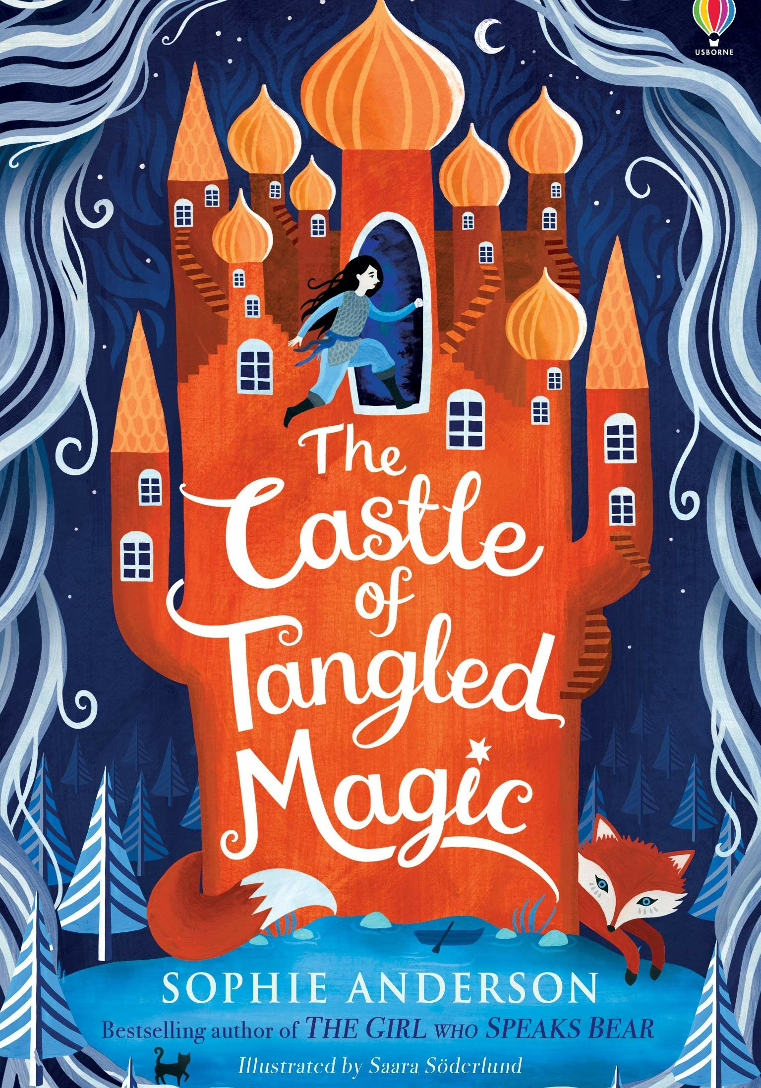 The castle of tangled magic book